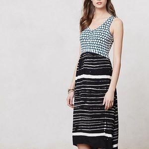 ANTHROPOLOGIE LILKA 'ARCATA' HIGH LOW MAXI DRESS